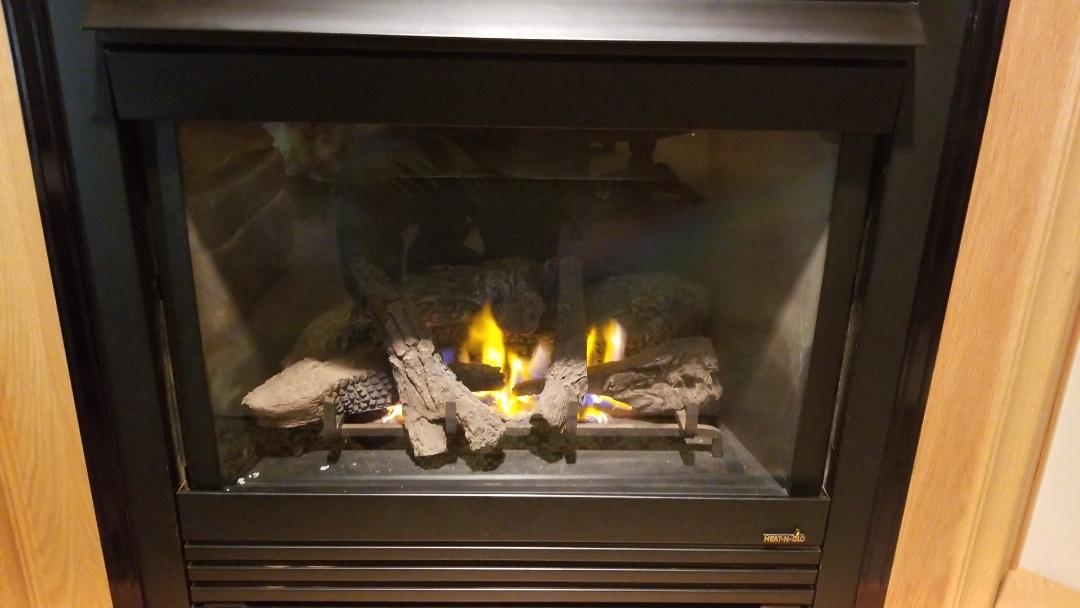 New Richmond, WI - Heat n Glo fireplace repair, in New Richmond Wi.