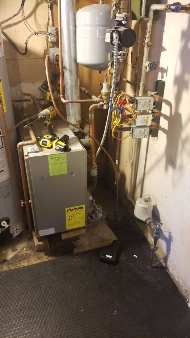 Hastings, MN - Bradford white boiler repair. Zone valve