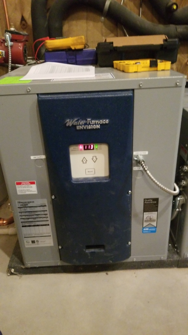 Afton, MN - Water Furnace geothermal service