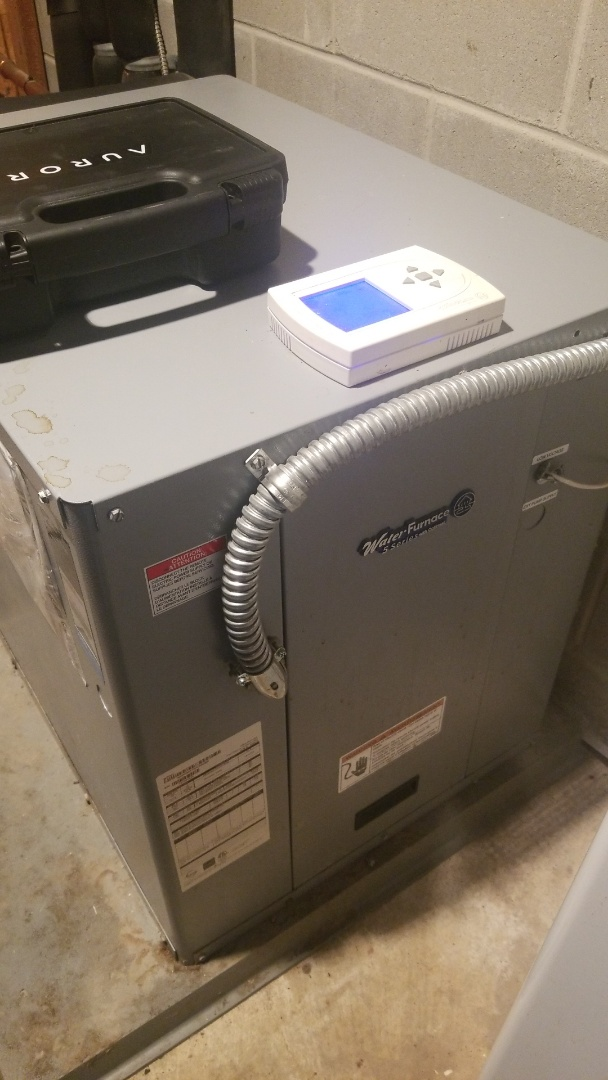 Welch, MN - Water Furnace high temp geothermal service