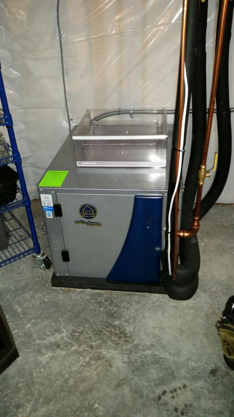 Hampton, MN - Geothermal install