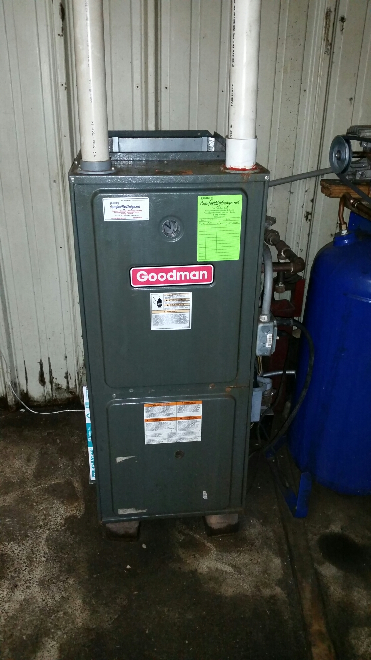Wilson, WI - Furnace repair