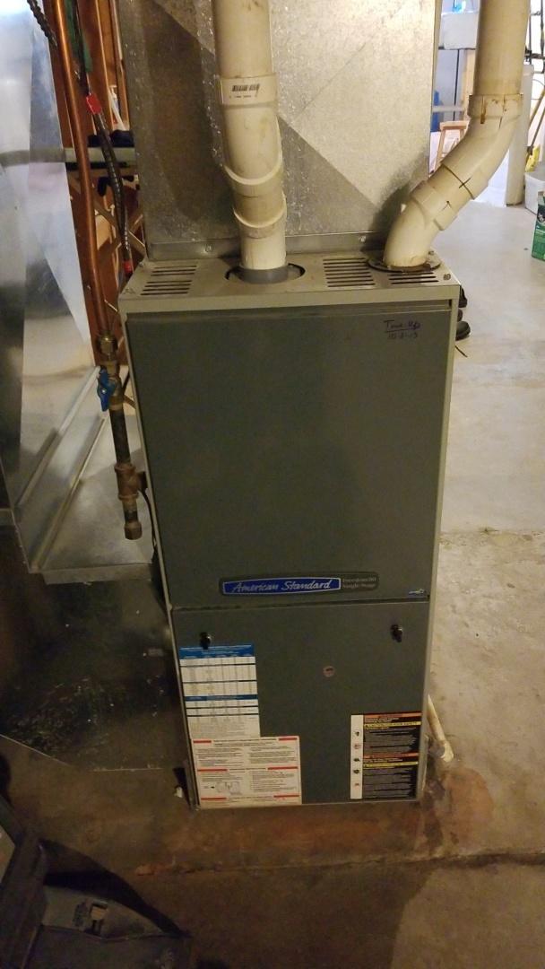 Bay City, WI - American Standard furnace service