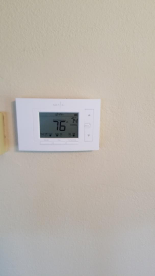 Pepin, WI - Installing Sensi WI-FI thermostat