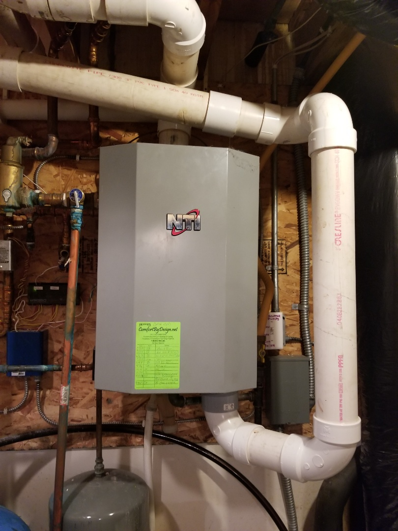 Afton, MN - NTI boiler service