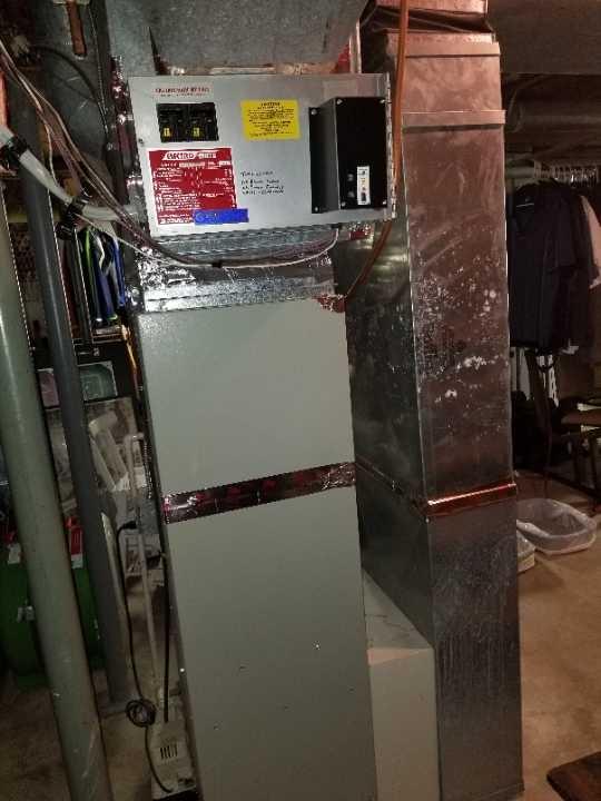 Frontenac, MN - Trane furnace service