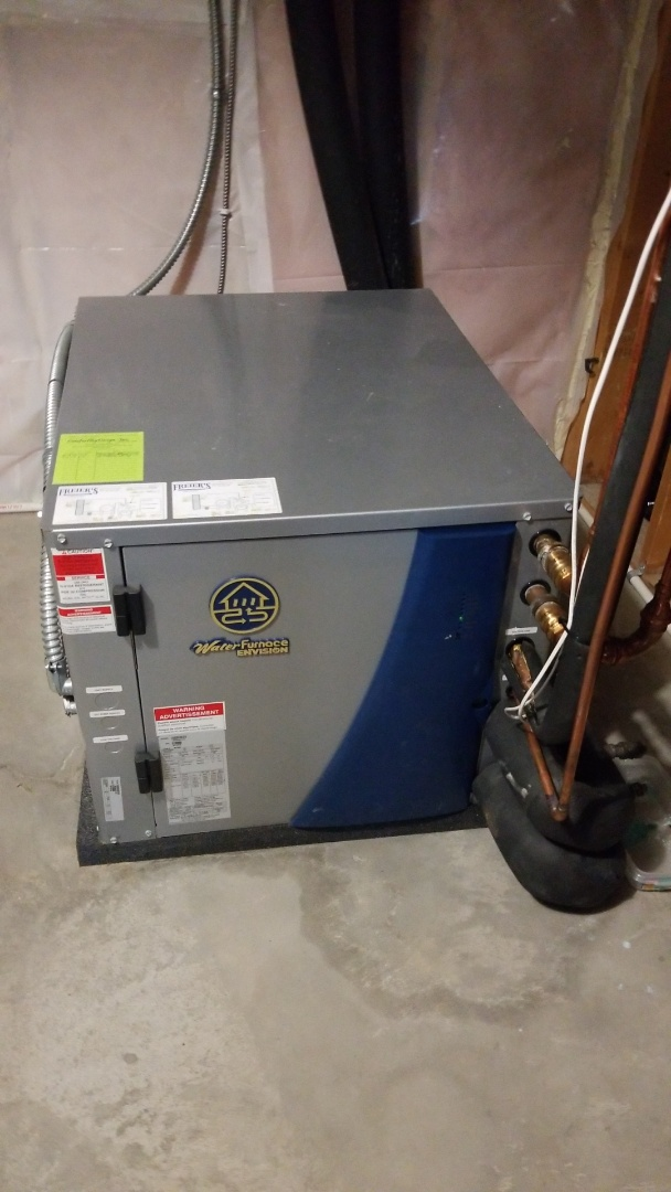 Hager City, WI - Water furnace geothermal repair