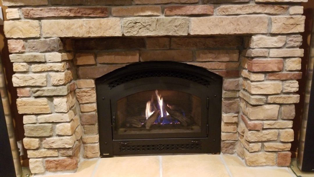 Eagan, MN - Regency fireplace service