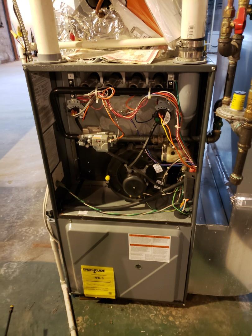 Osceola, WI - Diakin furnace tune up