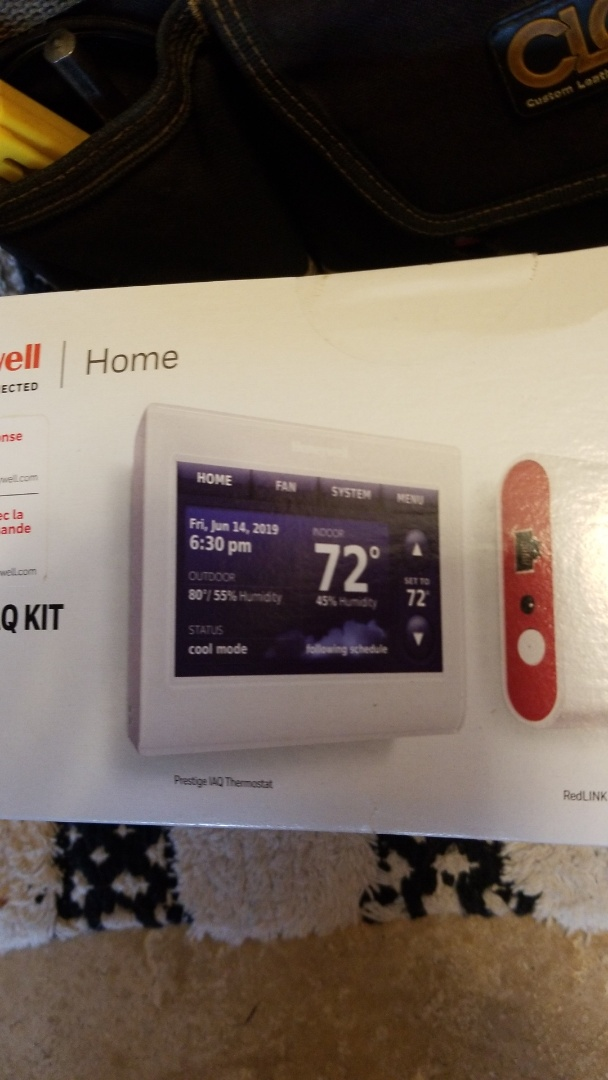 Lake Elmo, MN - Internet thermostat installed