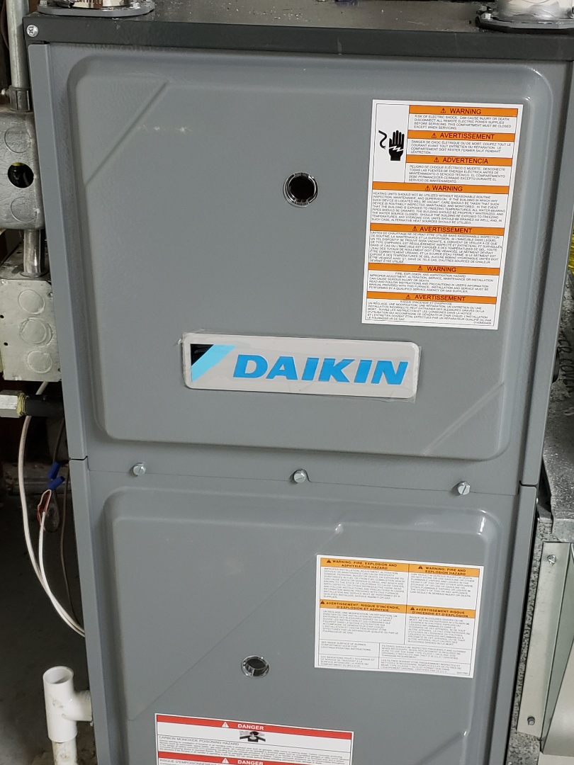 Scandia, MN - Daikin furnace clean and tune