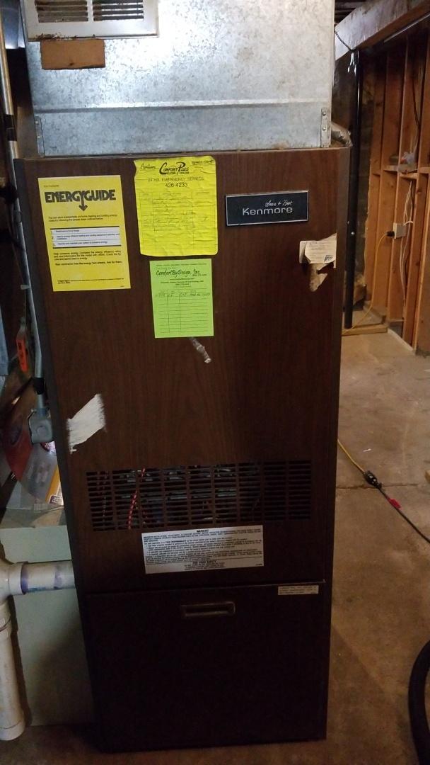Afton, MN - Kenmore furnace repair