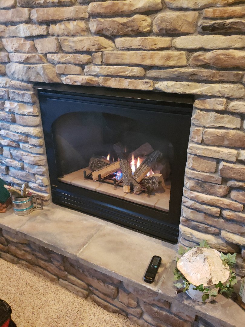 Forest Lake, MN - Fire place repair