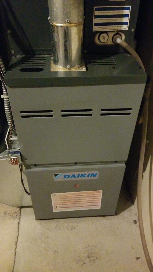 Daikin furnace service