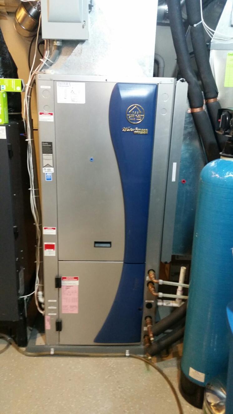 Eagan, MN - Geothermal install