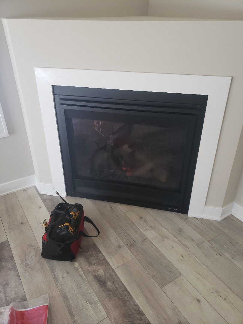 New Richmond, WI - Fireplace repair and service.