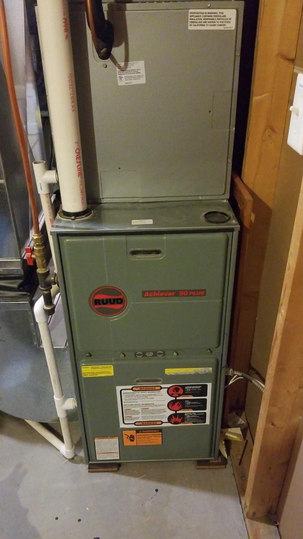 Ellsworth, WI - Ruud furnace service