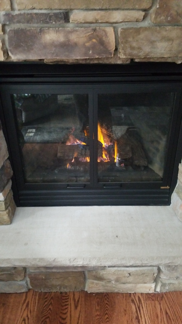 Somerset, WI - Heat N Glo gas fireplace repair