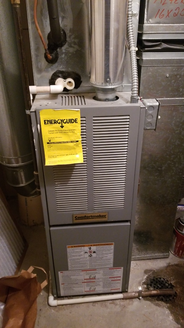 Somerset, WI - Comfortmaker furnace repair