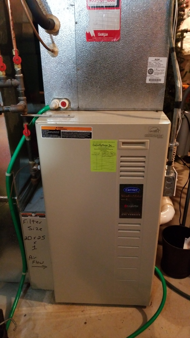 Rosemount, MN - Carrier furnace repair