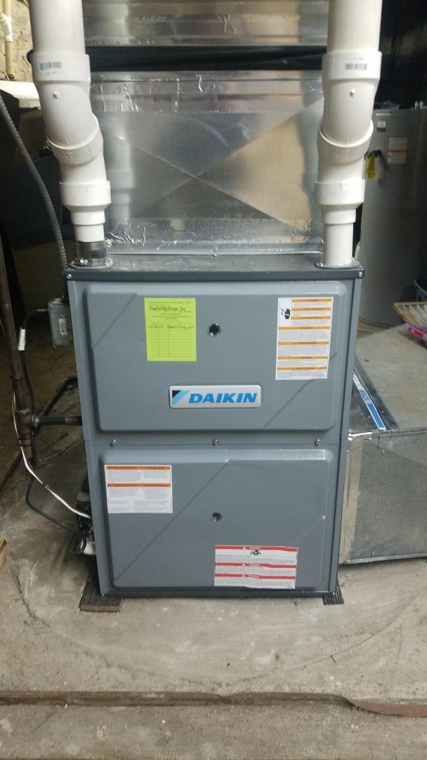 Ellsworth, WI - Daikin furnace service