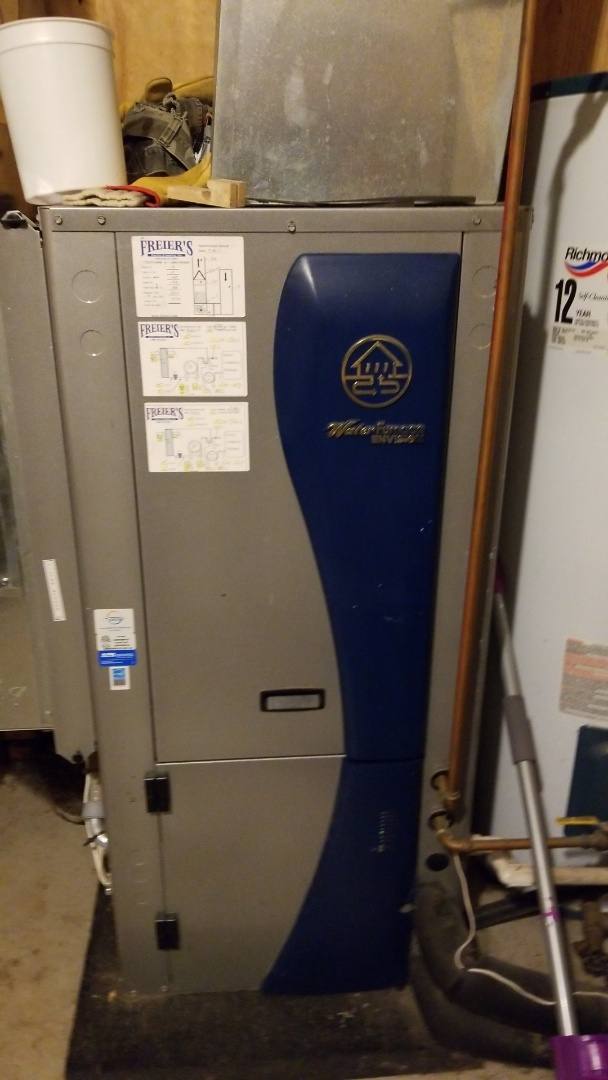 Amery, WI - Water furnace geothermal service
