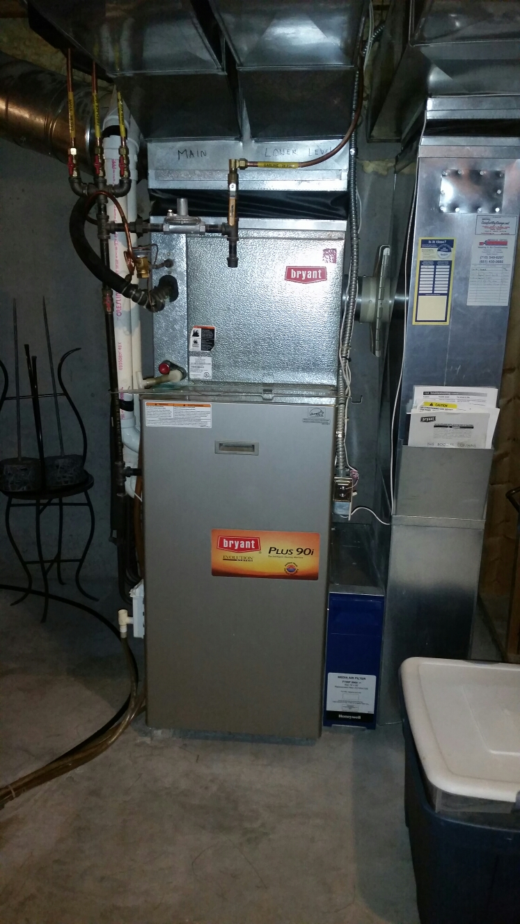 Furnace and air conditioning repair in ellsworth wi for Curtis walk in cooler