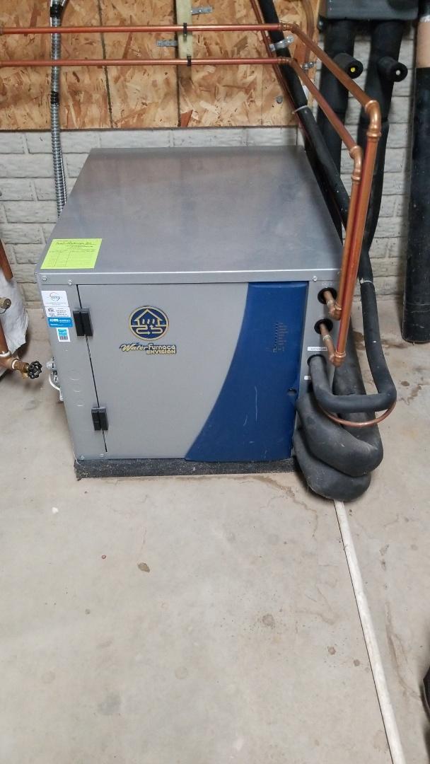 Ellsworth, WI - Water furnace geothermal service
