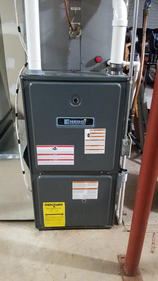 Ellsworth, WI - Energi Air furnace service