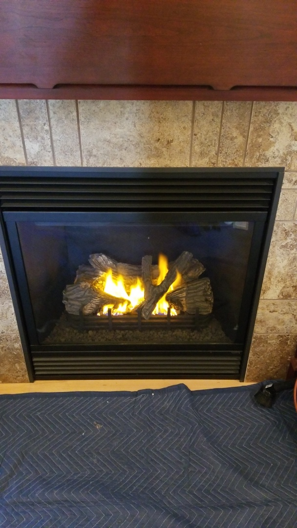 River Falls, WI - Majestic gas fireplace service