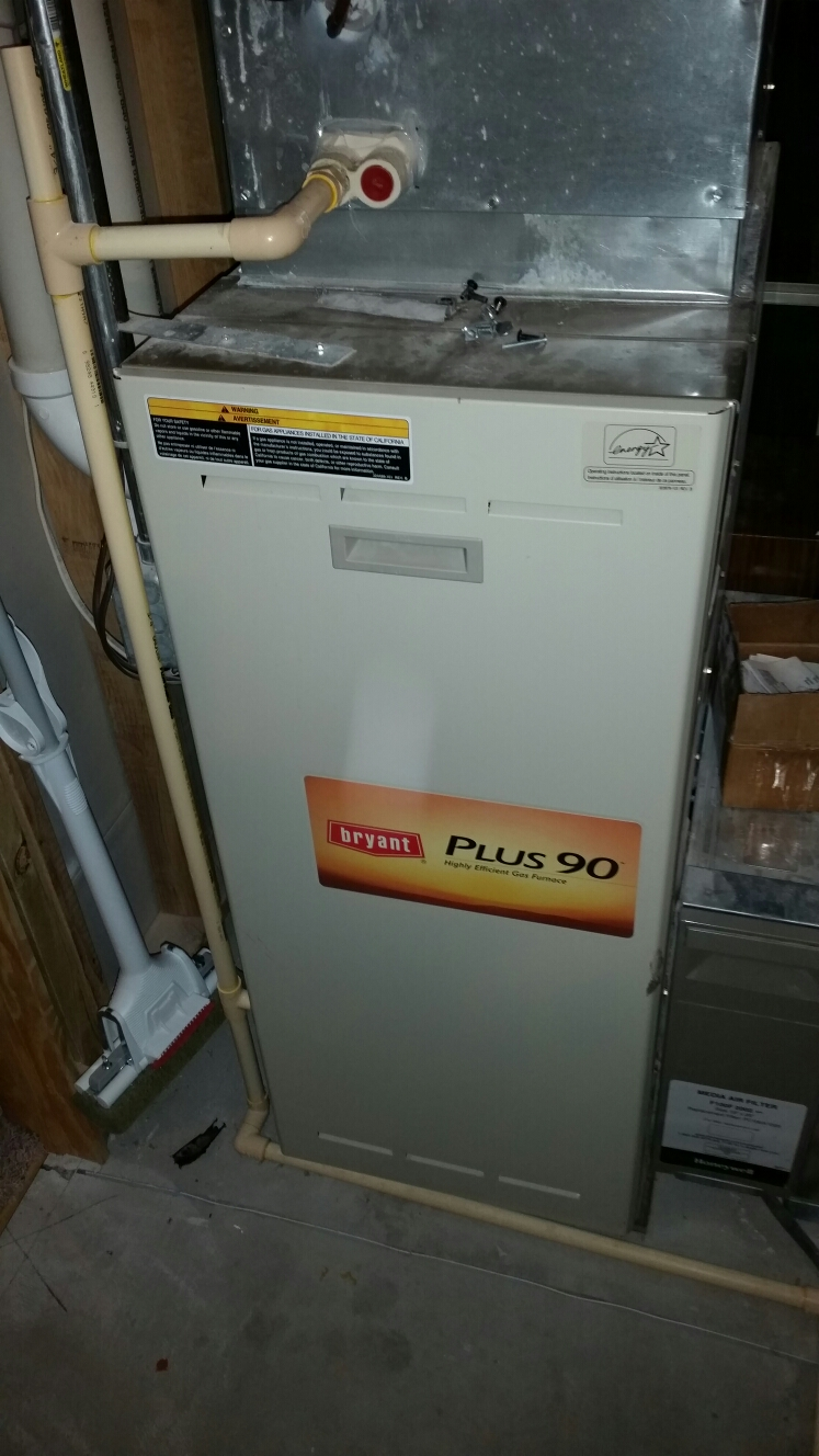 Plum City, WI - Furnace service