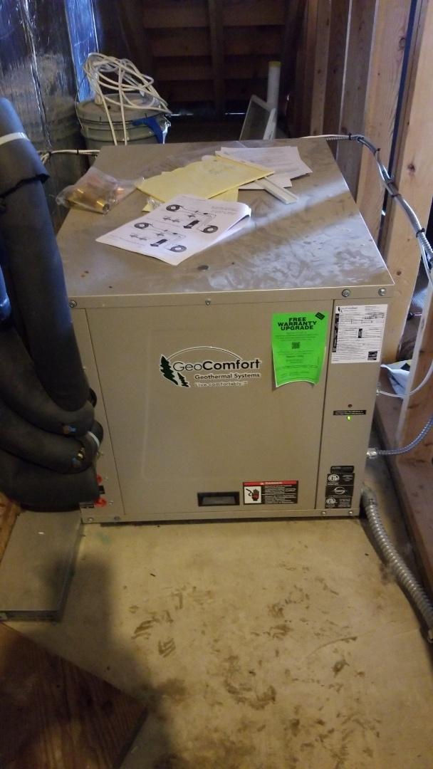 Ellsworth, WI - Geo Comfort geothermal repair