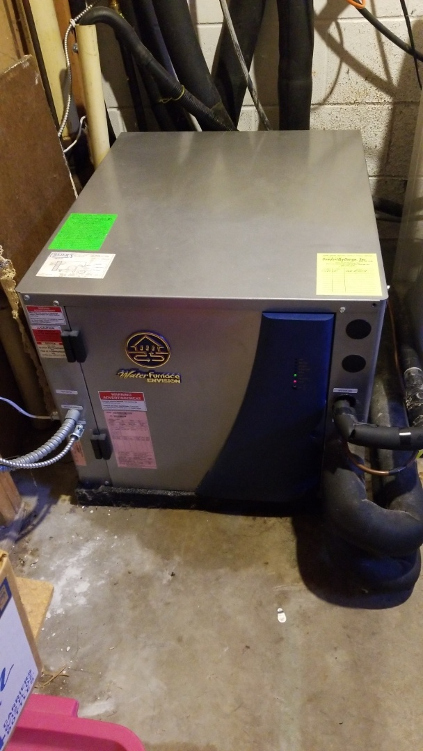 Hager City, WI - Water furnace geothermal service