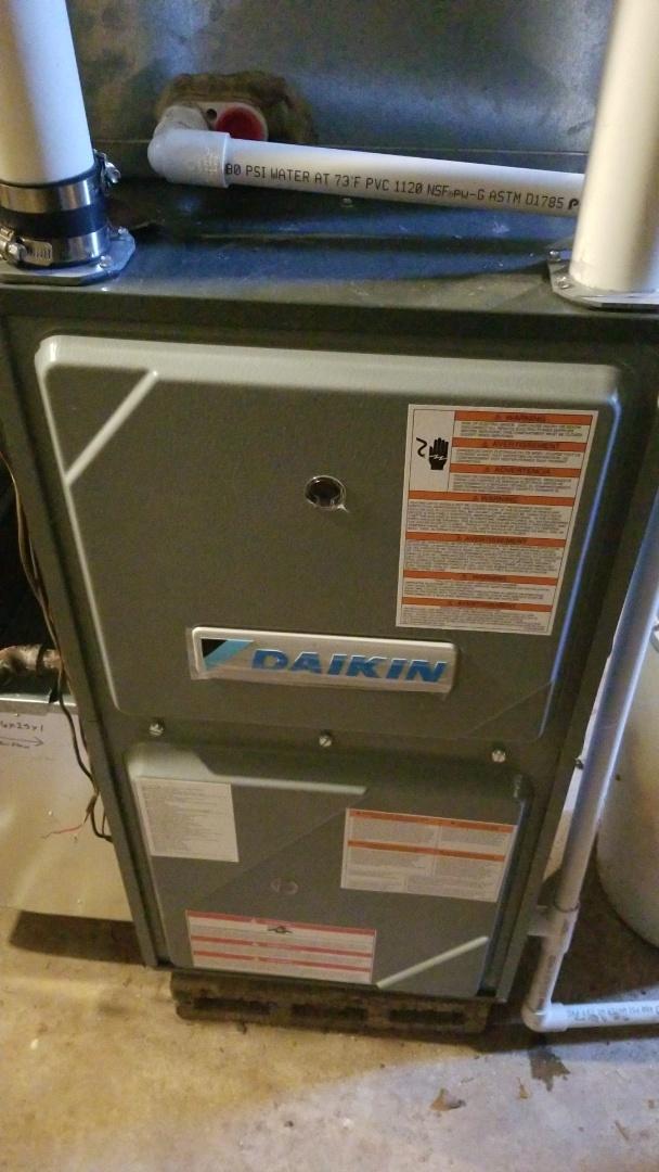 Hager City, WI - Daikin furnace service