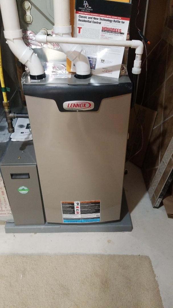 Hager City, WI - Lennox furnace service