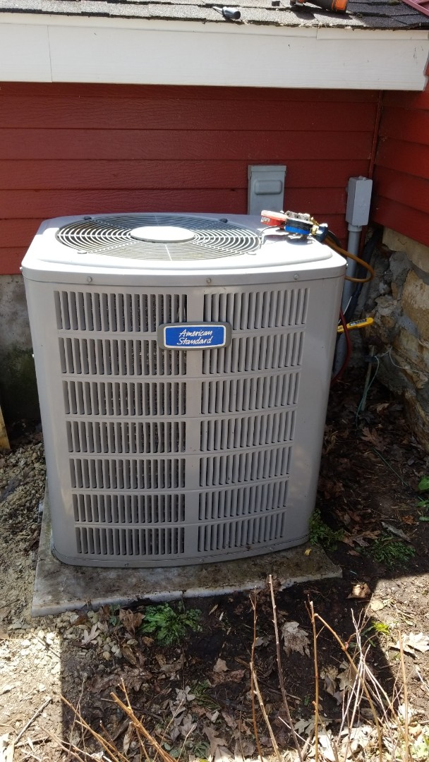 Woodbury, MN - American Standard air conditioner service