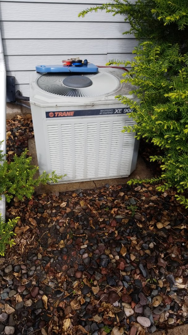 Hudson, WI - Trane air conditioner service
