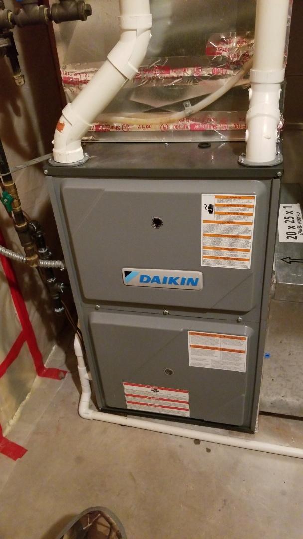 Hudson, WI - Daikin furnace service