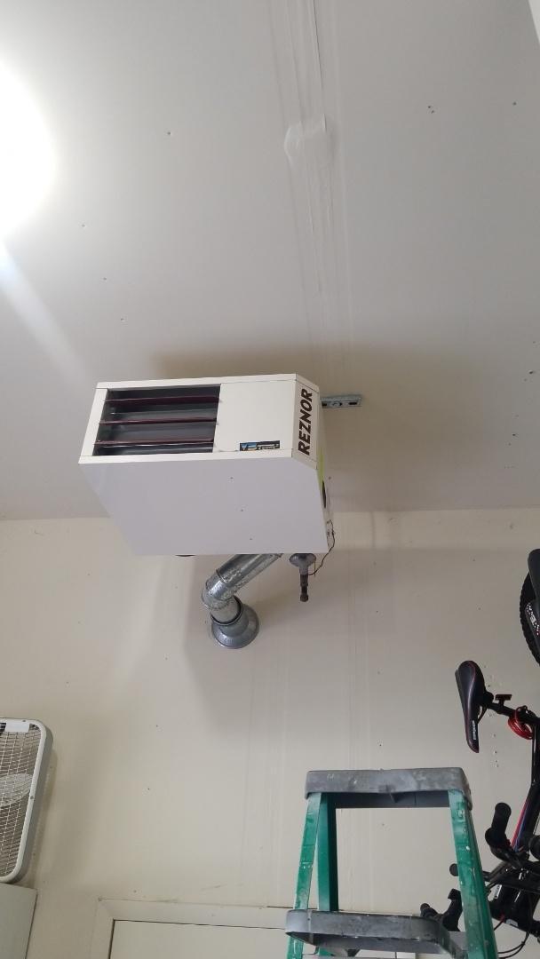 Hudson, WI - Reznor hanging heater service