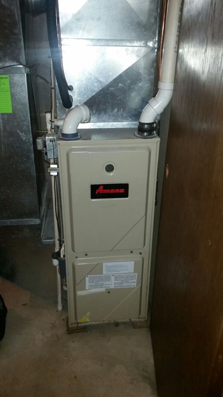 Bay City, WI - Nordyne furnace limit repair.