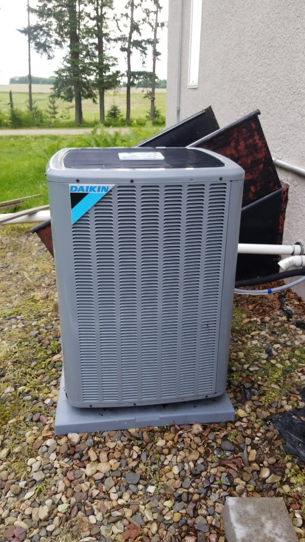 Hager City, WI - Daikin air conditioner service