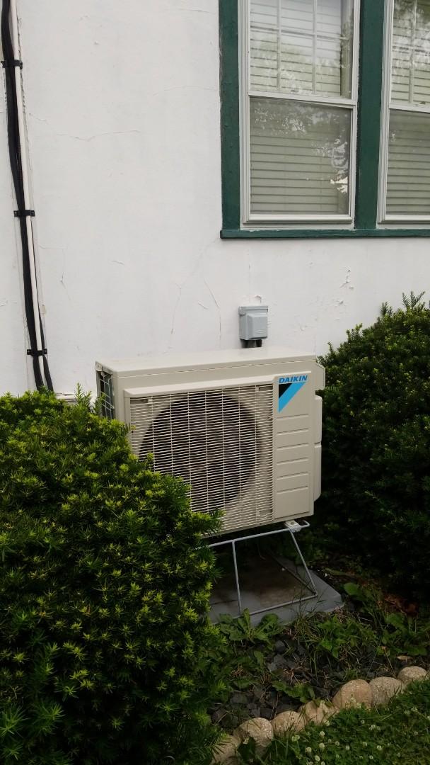 Hager City, WI - Daikin mini split air conditioner service
