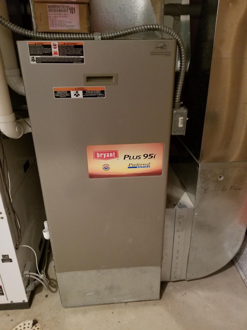 Red Wing, MN - Bryant furnace repair