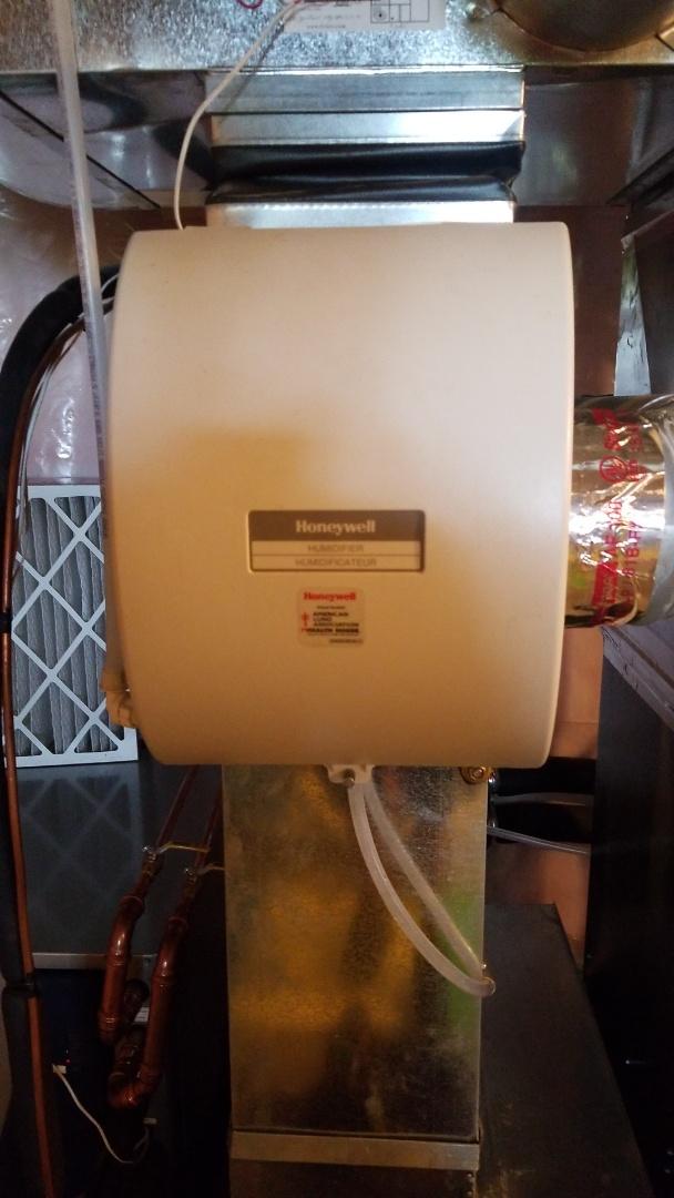 Hager City, WI - Honeywell humidifier service