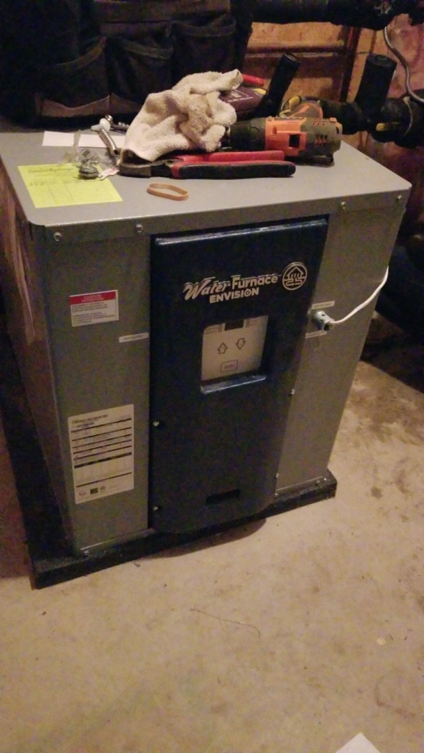 Houlton, WI - Water furnace geothermal repair