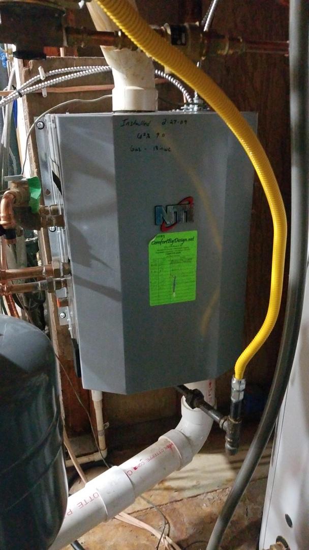 Prescott, WI - NTI boiler service