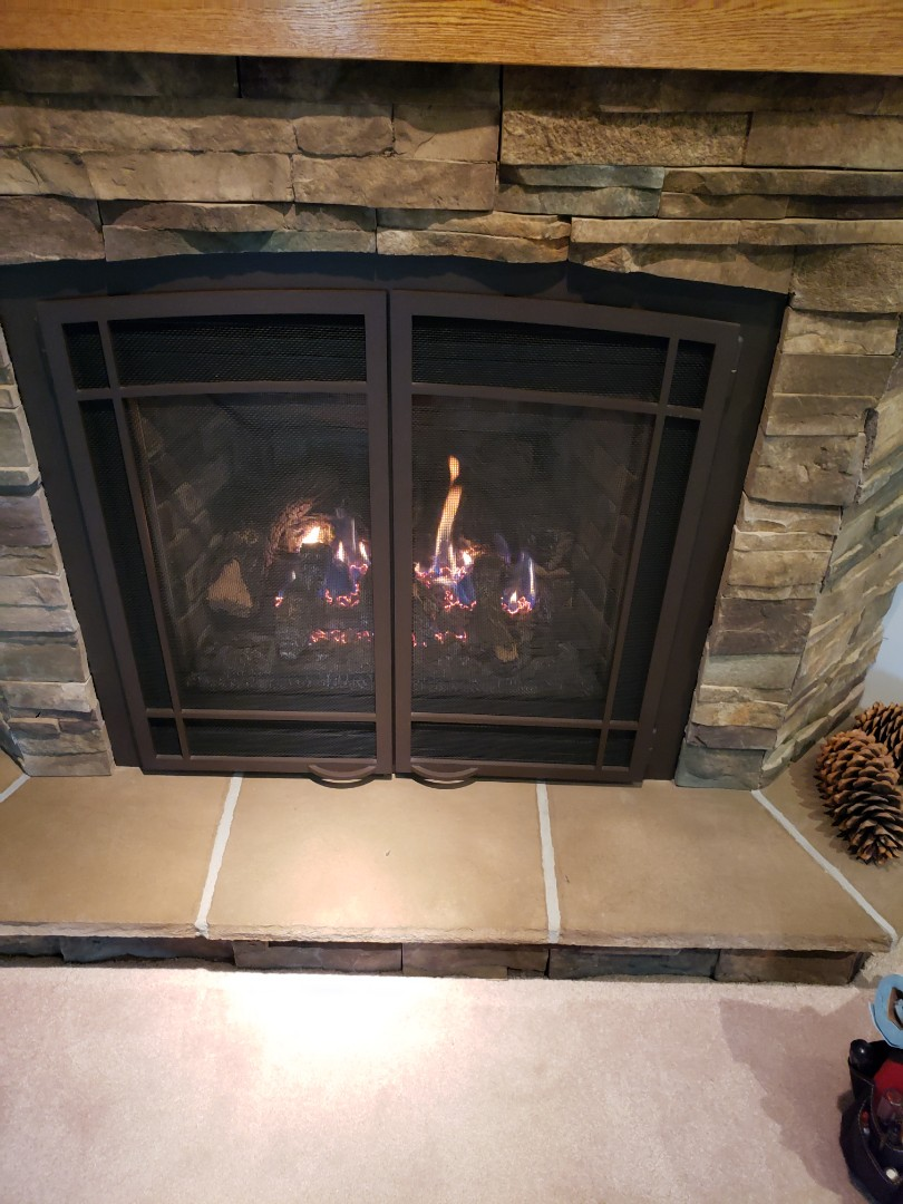Roberts, WI - Fire place cleaning and service. Fall maintenance