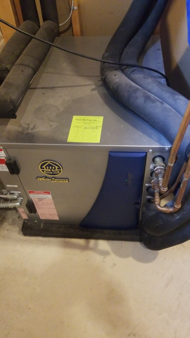 Eagan, MN - Water furnace geothermal repair