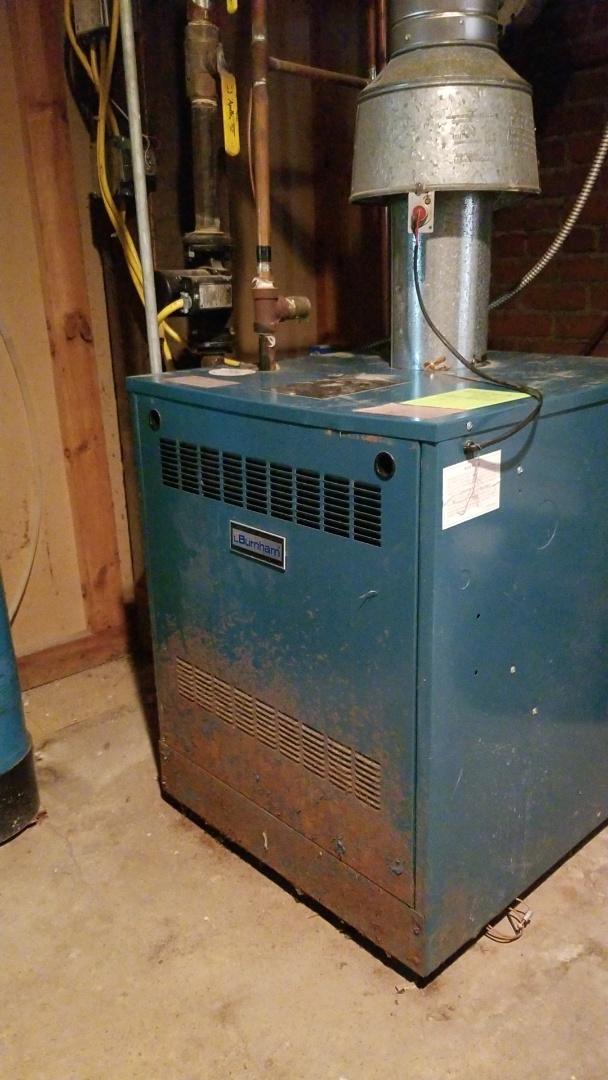 Ellsworth, WI - Burnham boiler repair