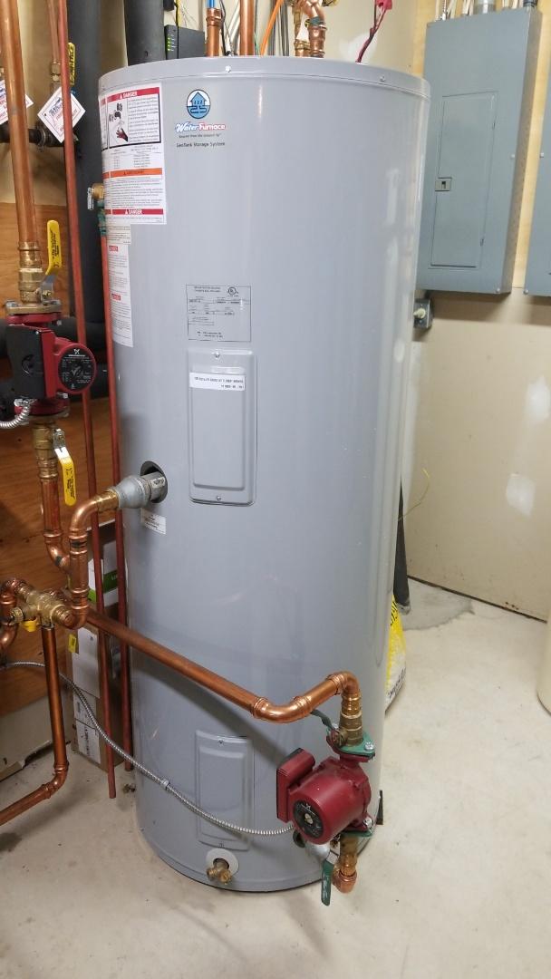 Hastings, MN - Geothermal buffer tank service
